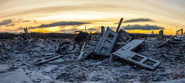 原子力の冬 - 遺跡 ストックフォトと画像