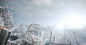 Nuclear Winter Urban Landscape