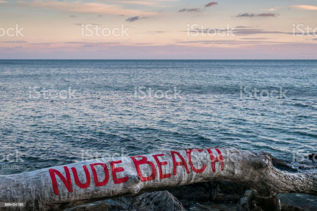 Nude Beach Label Stock Photo & More Pictures of Beach - iStock