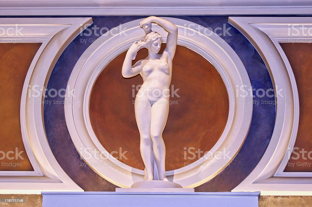 Nude Classical Female Statue royalty-free stock photo