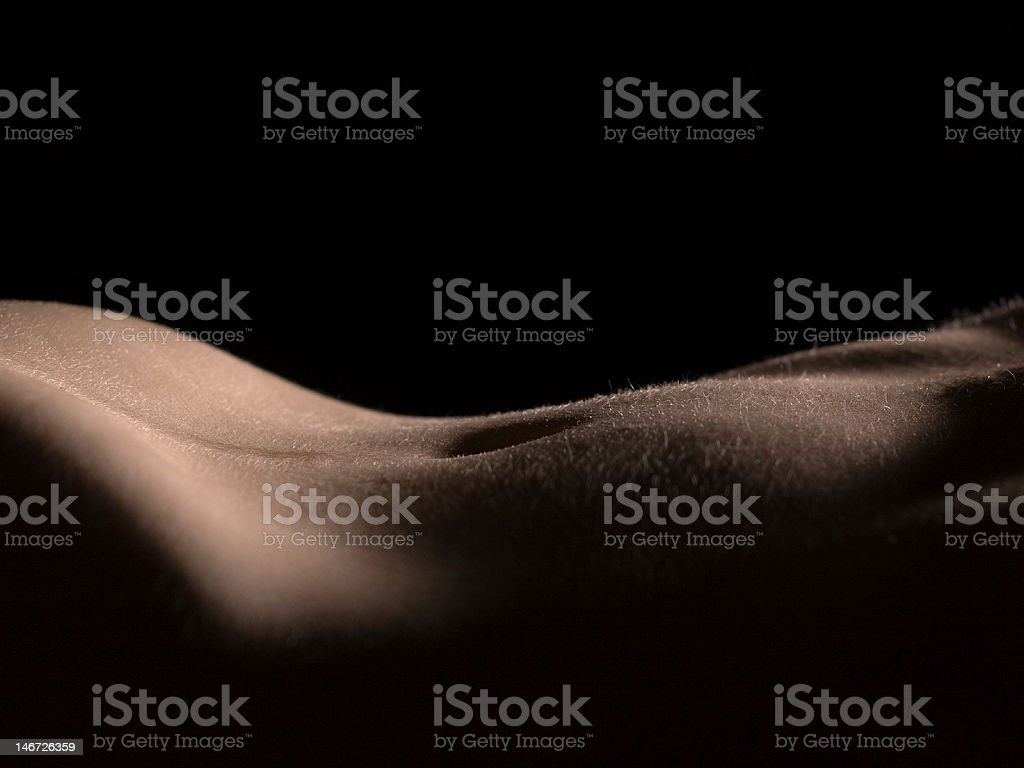 Nude Female Torso stock photo