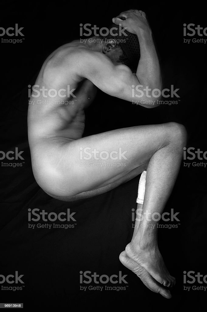 nude male royalty-free stock photo
