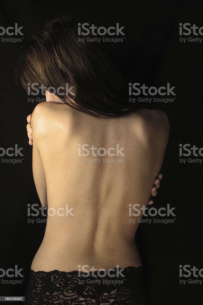 Nude royalty-free stock photo