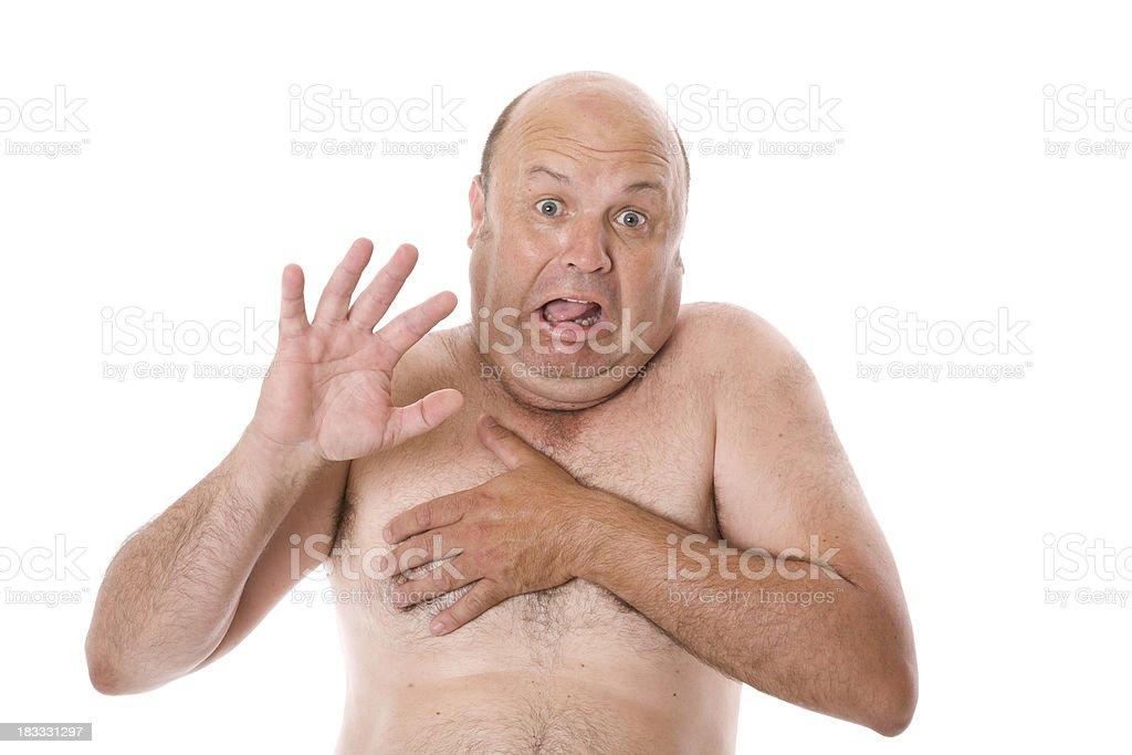 Nude Shock stock photo