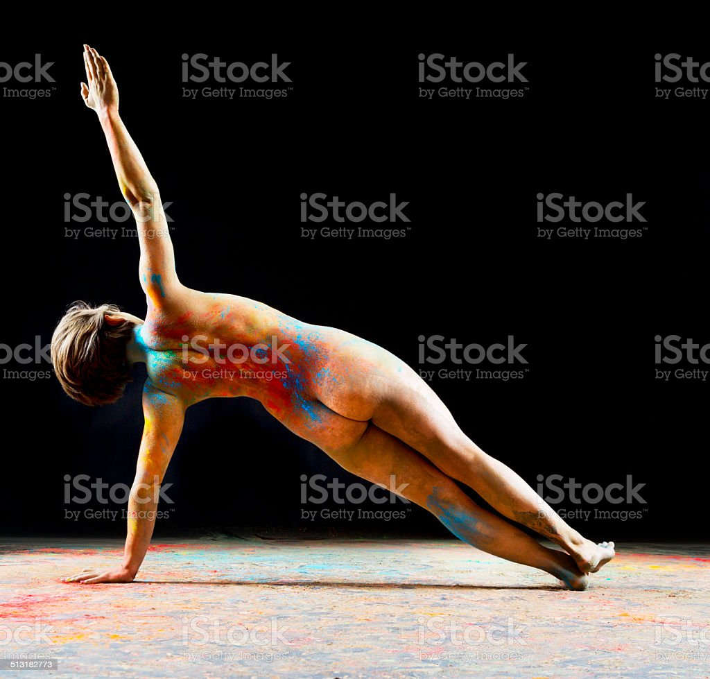 Nude Yoga Stock Photo  More Pictures Of Adult - Istock-1880
