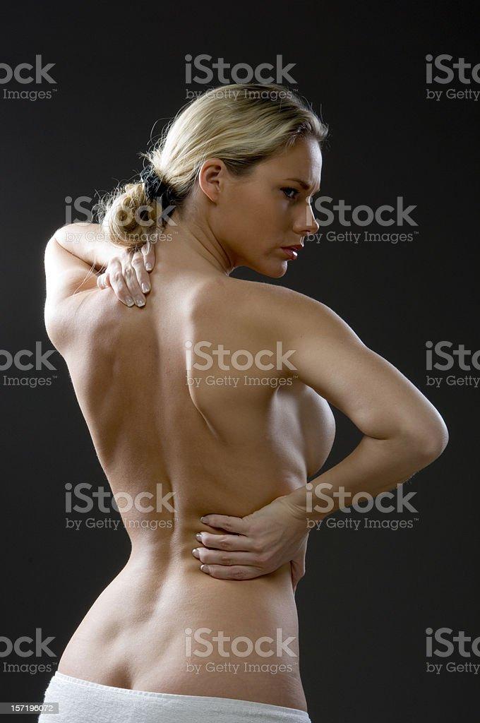 young flexible nude girl