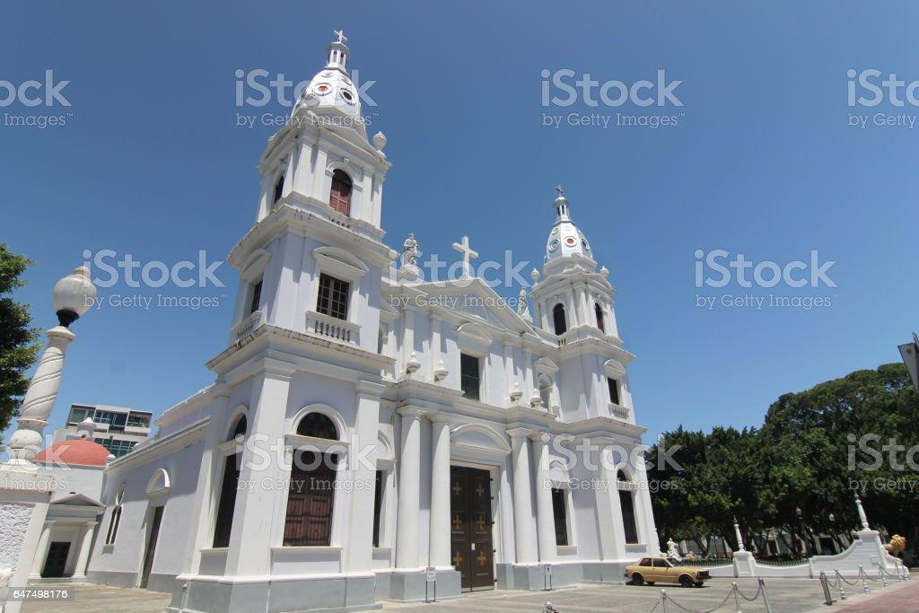 Nuestra Senora de la Guadalupe Church Ponce/Catedral Nuestra Señora de la Guadalupe stock photo