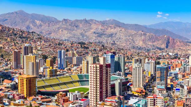 Nuestra Señora De La Paz bunte Stadt Stadtzentrum – Foto
