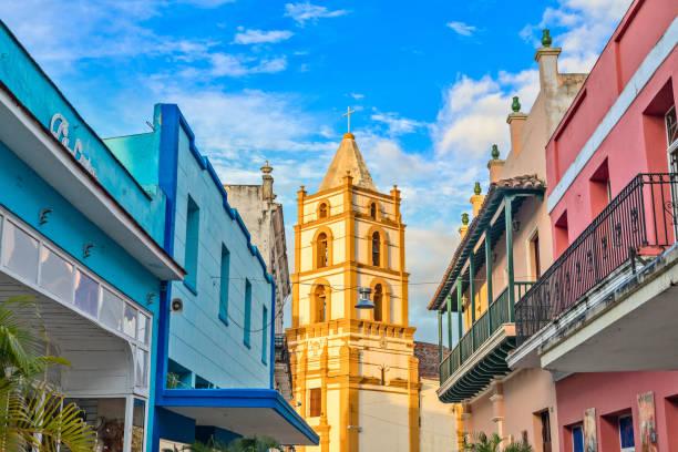 Kirche von Nuestra Señora De La Soledad und bunten spanischen Kolonialstil – Foto