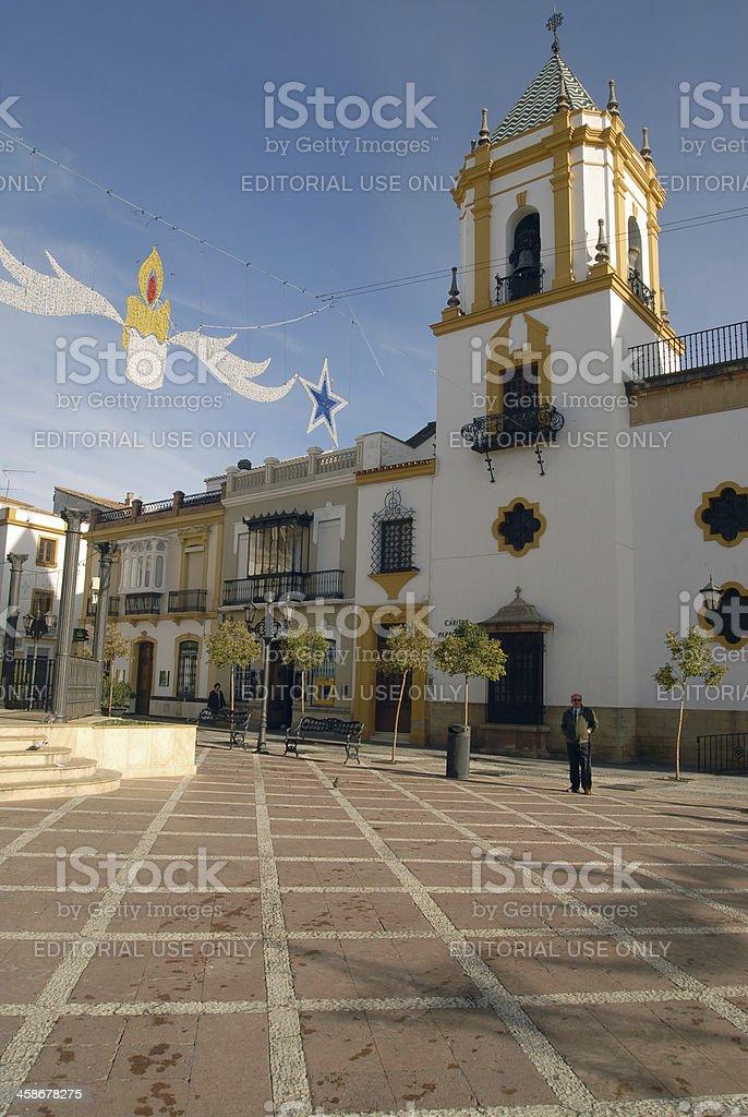 Nuestra Senora del Socorro Church royalty-free stock photo
