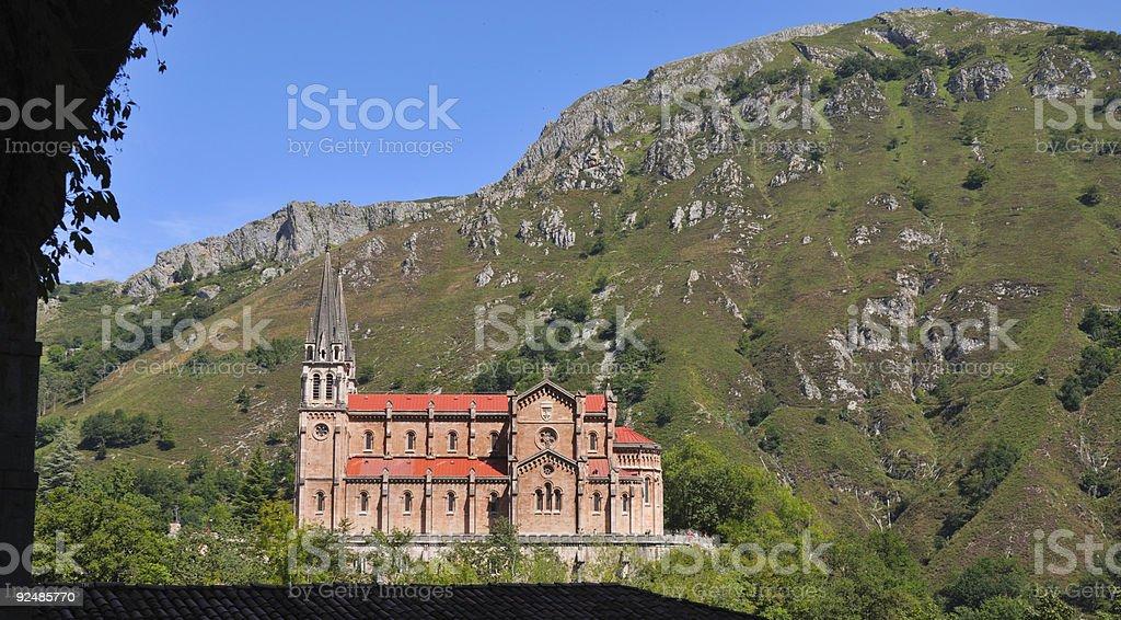 Nuestra Señora de Covadonga royalty-free stock photo