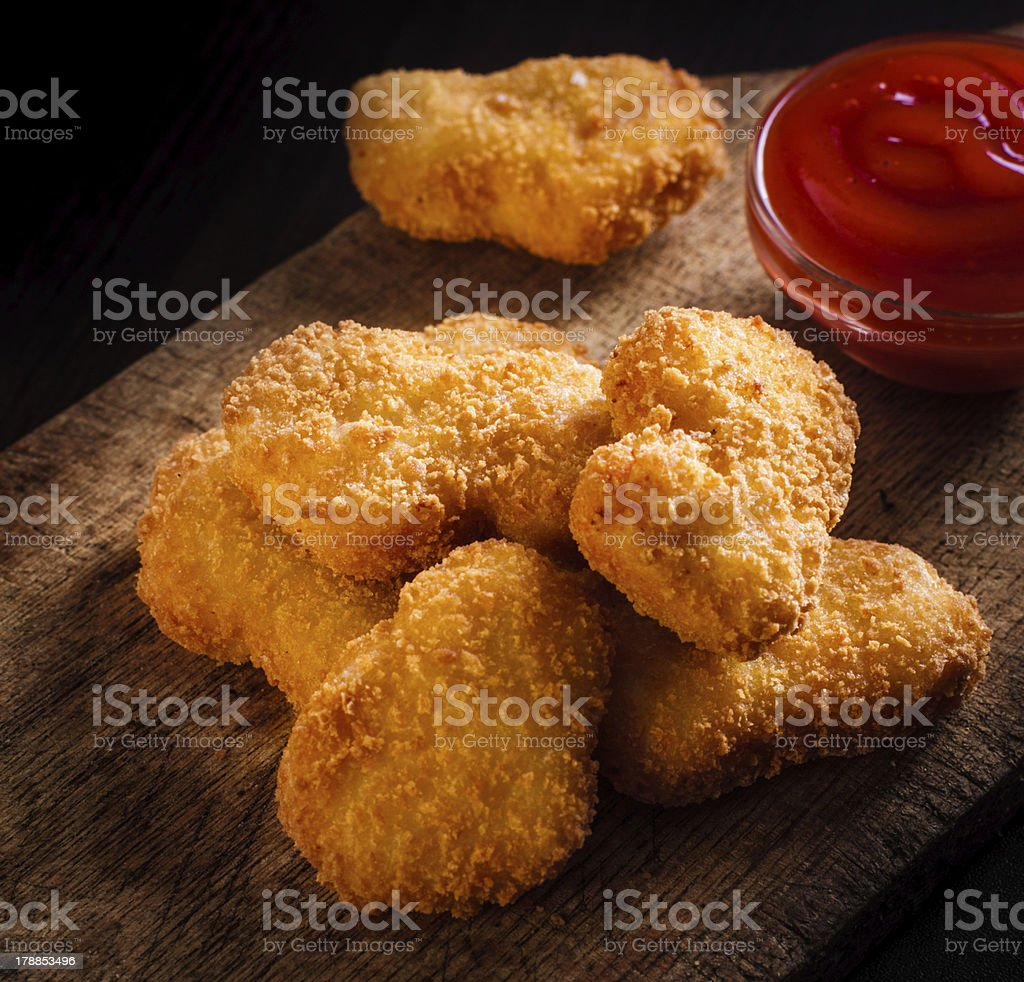 Nuggets stock photo