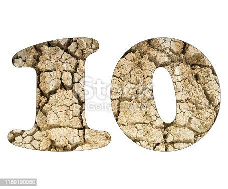 istock Number 10 - Arid land detail 1189190080