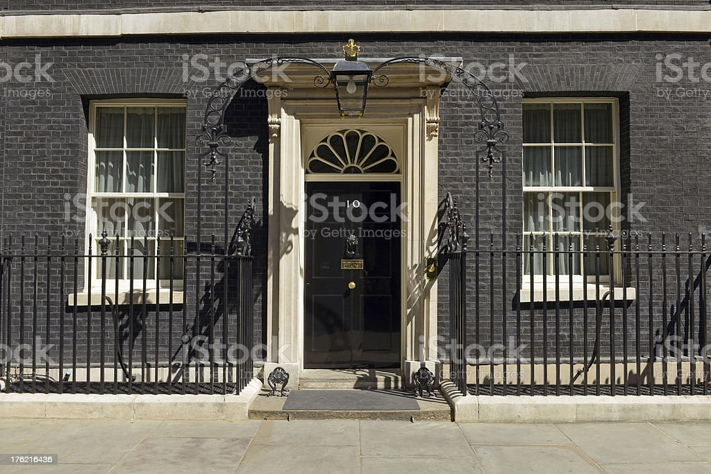 Number 10 Downing Street stock photo