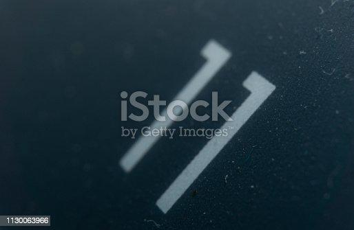 istock Number 11 1130063966