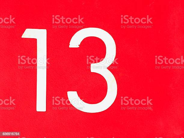 Number 13 on red wall picture id636916764?b=1&k=6&m=636916764&s=612x612&h=agconvjtw26ouxepuyc h1n7wyg6wxdvaclqrb225gw=