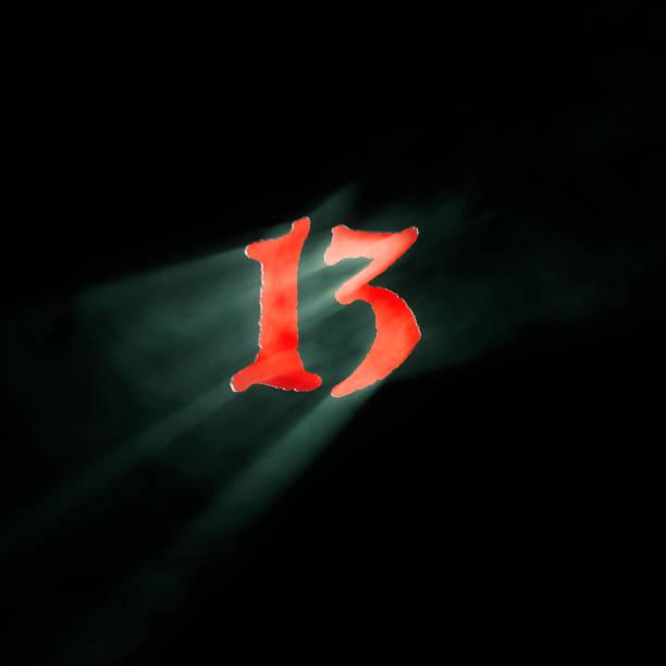 nummer 13 - number 13 stock-fotos und bilder