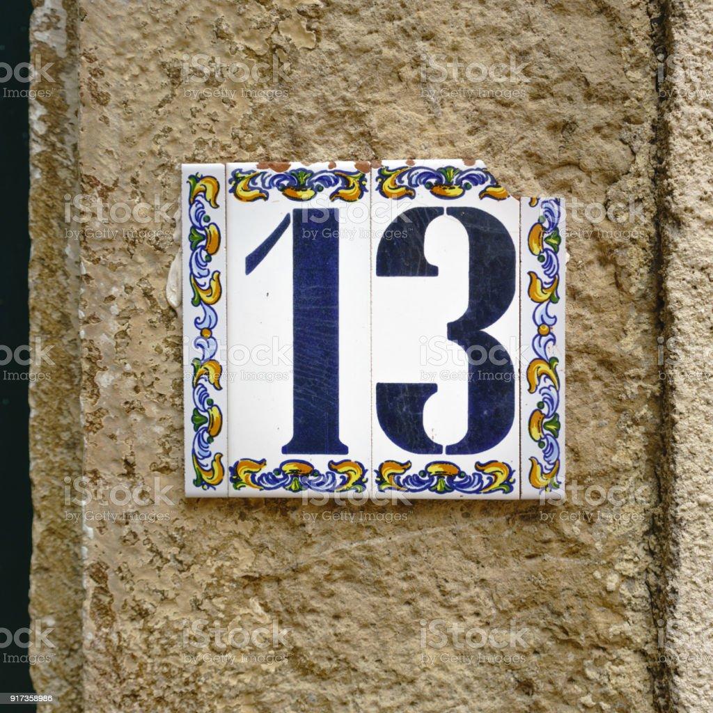 Número eight - foto de acervo