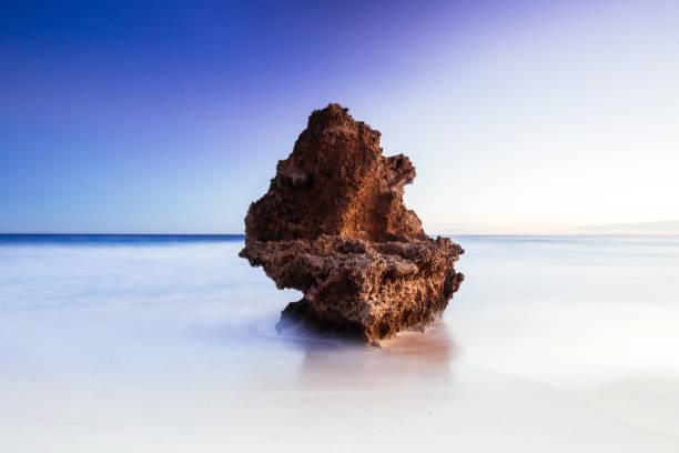 Number 16 Beach in Rye Australia stock photo