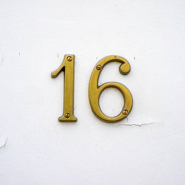 number 16 - number 16 stock photos and pictures