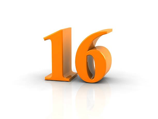 Number 16 Pictures, Images And Stock Photos