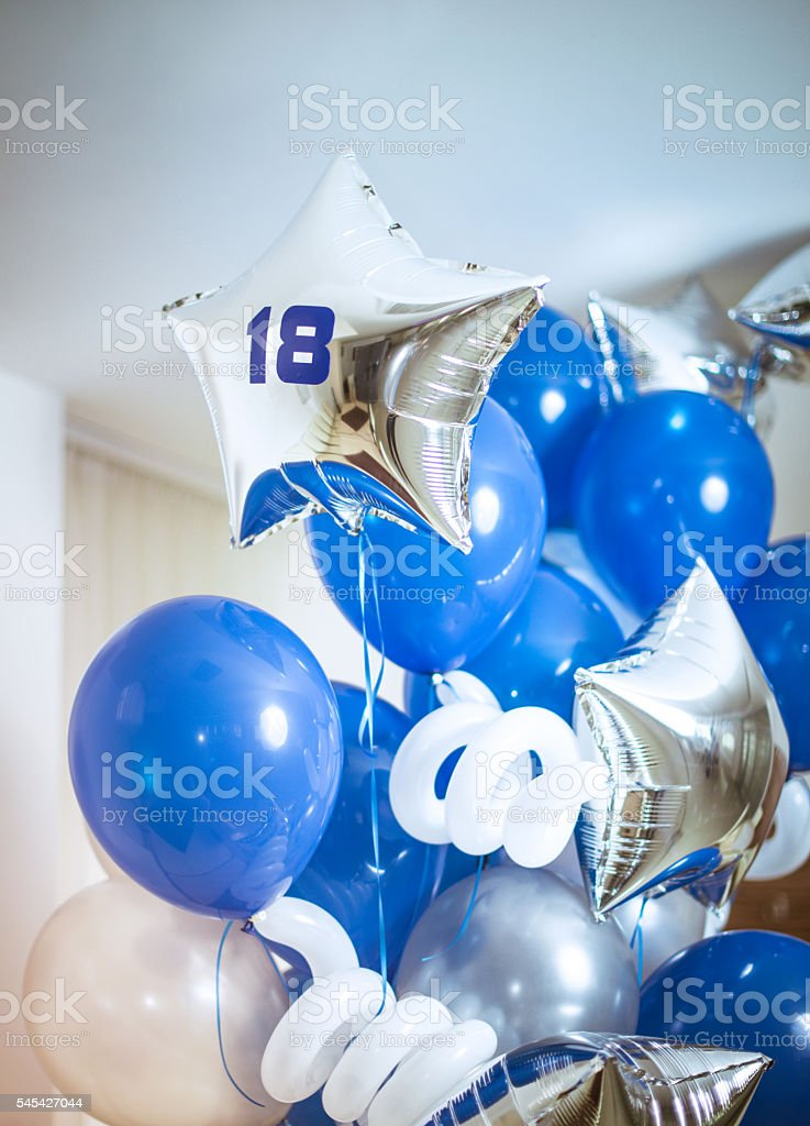 Number 18 Ballons – Foto