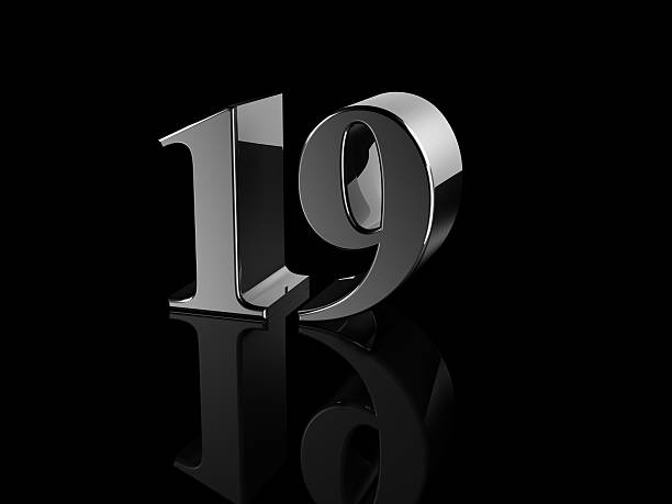 number 19 - number 19 stock photos and pictures