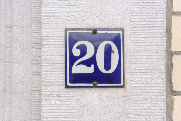 number 20 - number 20 stock photos and pictures