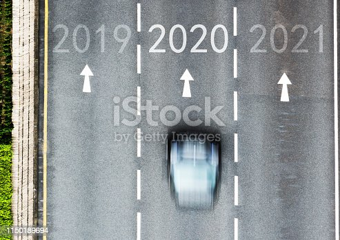 1150191246 istock photo Number 2019, 2020, 2021 on city street 1150189694