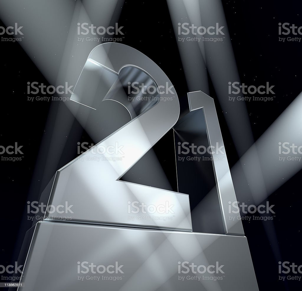 Number 21 stock photo