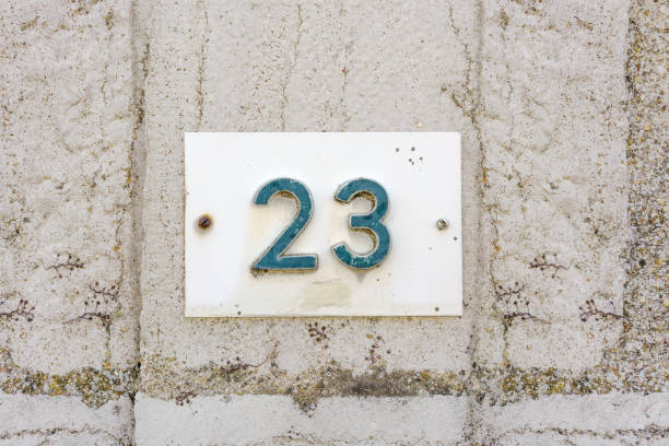 number 23 - number 23 stock photos and pictures