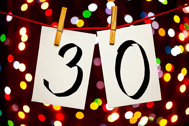 number 30 - number 30 stock photos and pictures