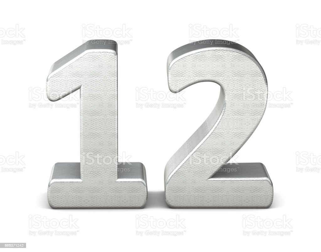 best number 12 stock photos  pictures  u0026 royalty