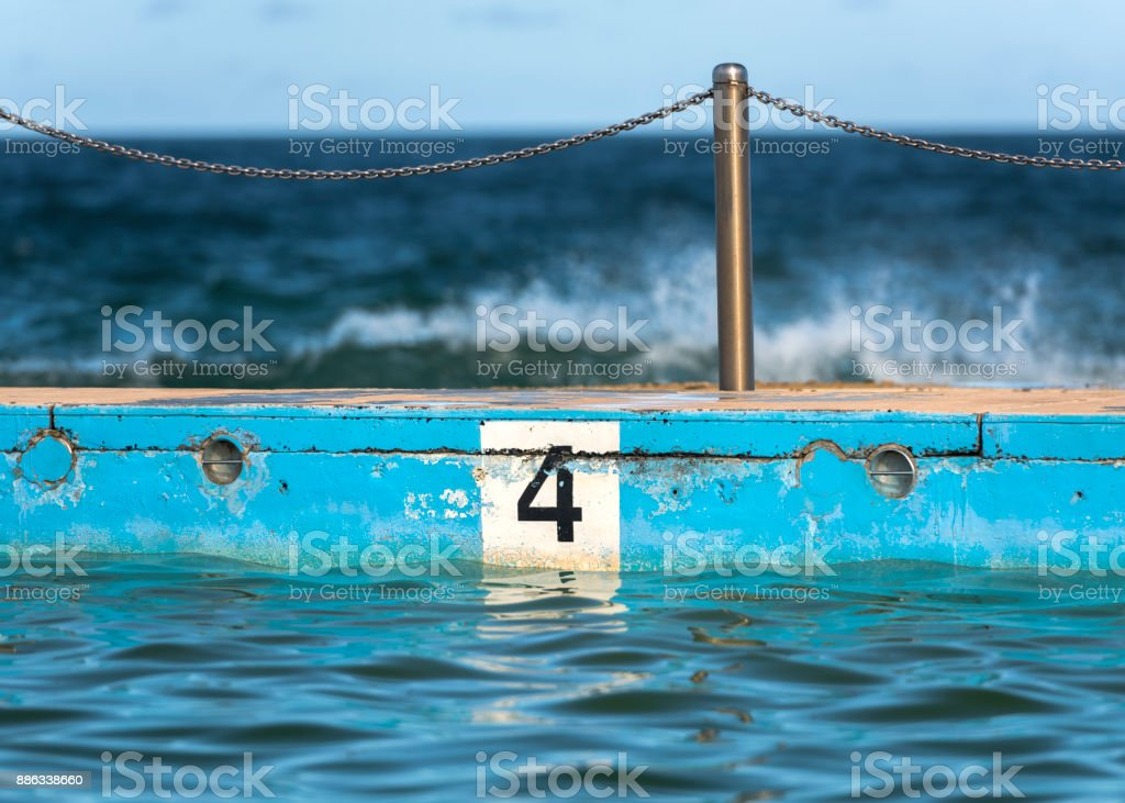 Number 4 stock photo
