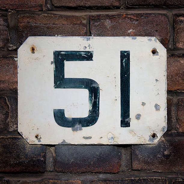 número 51 - numero 51 fotografías e imágenes de stock