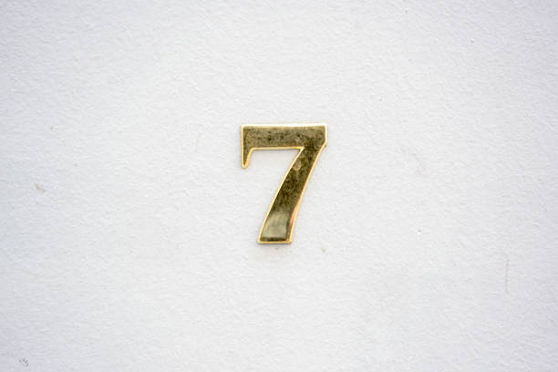 Number 7 House number seven (7). number 7 stock pictures, royalty-free photos & images