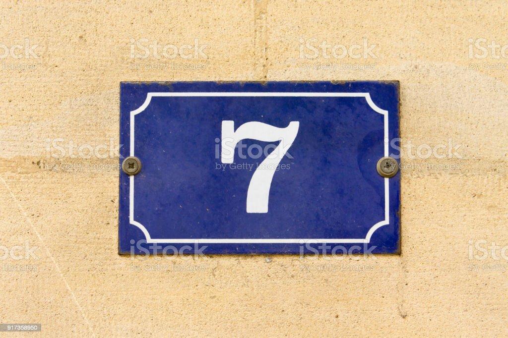 Número 7 - foto de acervo