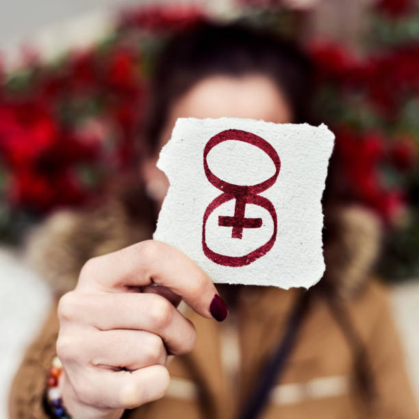 number 8, for march 8, the womens day stock photo