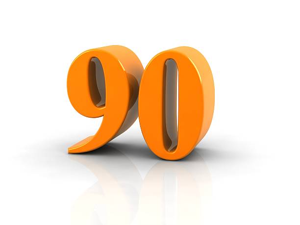 number 90 - number 90 stock photos and pictures
