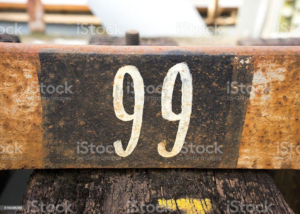 Numéro 99 - Photo