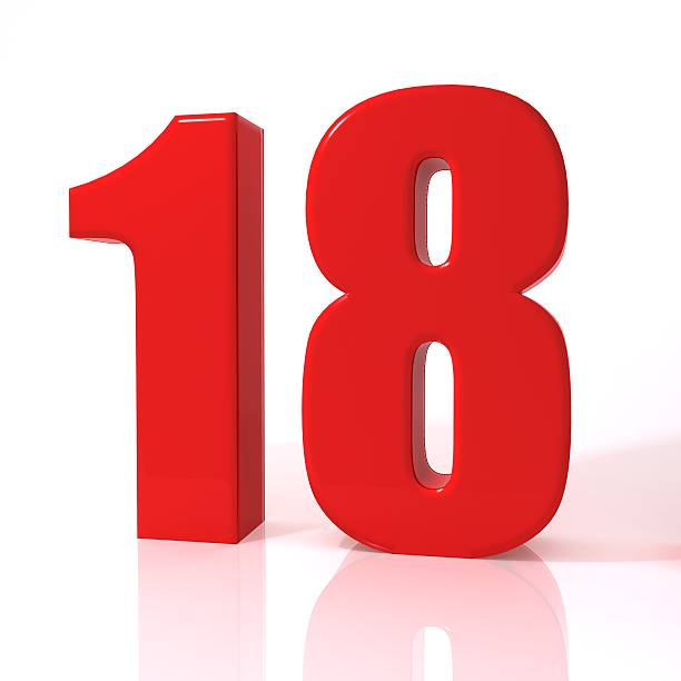 Best Number 18 Stock Photos, Pictures & Royalty-Free