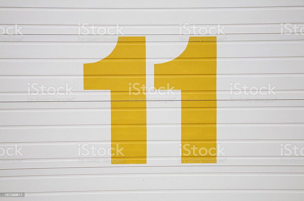 Nummer 11 Stock-Fotografie und mehr Bilder von Farbbild | iStock