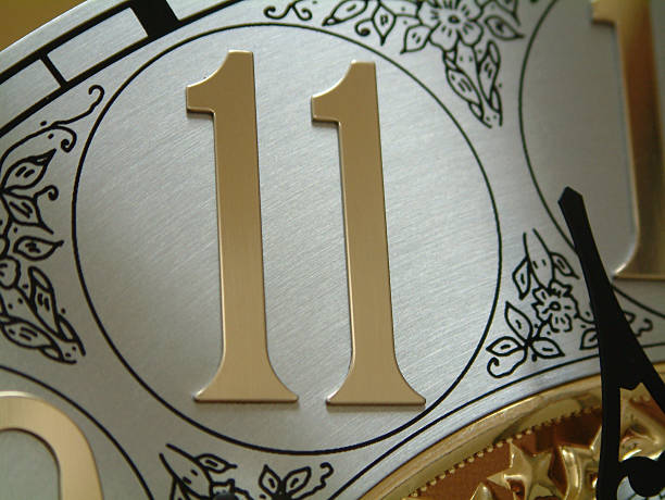 Number Eleven stock photo