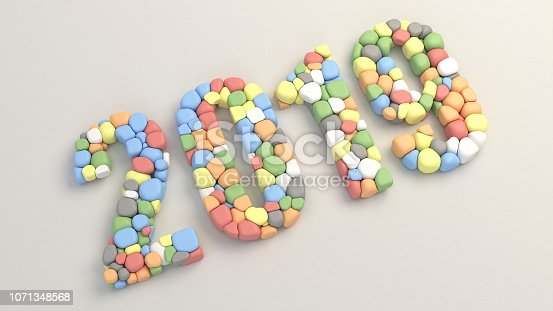 istock 2019 number made from colorful balloons 1071348568