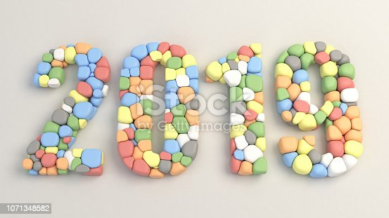 istock 2019 number made from colorful balloons 1071348582