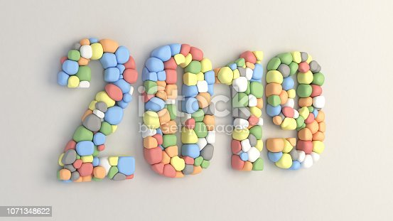 istock 2019 number made from colorful balloons 1071348622