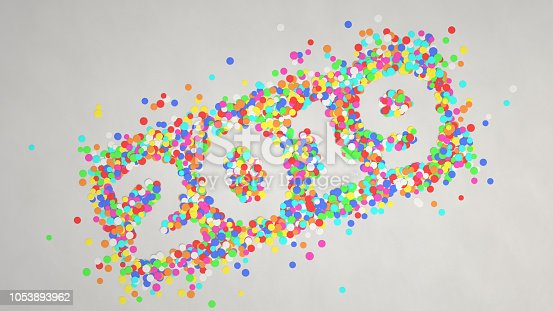 1051075452 istock photo 2019 number made from colorful confetti 1053893962
