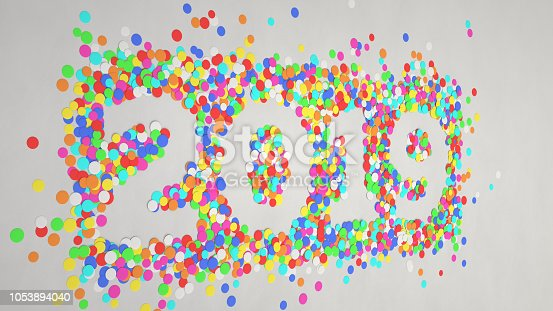 1051075452 istock photo 2019 number made from colorful confetti 1053894040