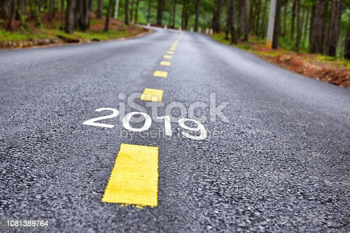 1081389658 istock photo Number of 2019 to 2023 on asphalt road 1081389764