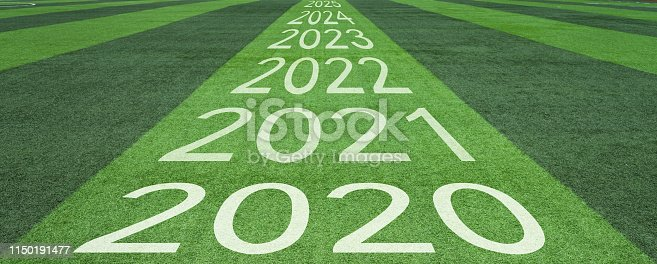 istock Number of 2020 to 2024 soccer field 1150191477